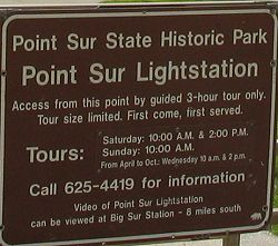Point Sur Lightstation State Historic Park Big Sur